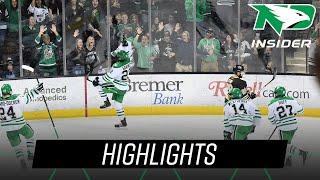 North Dakota vs. Manitoba | Highlights | UND Hockey | 10/6/18