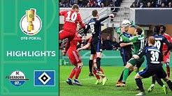 SC Paderborn - Hamburger SV 0:2 | Highlights | DFB-Pokal 2018/19 | Viertelfinale