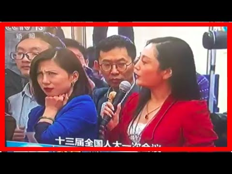 Reporter rolls eyes on live TV during China's national congress; gets censored