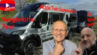 Vergleich der Hubbett-Kastenwagen: Adria 640 SGX gegen Pössl Revolution