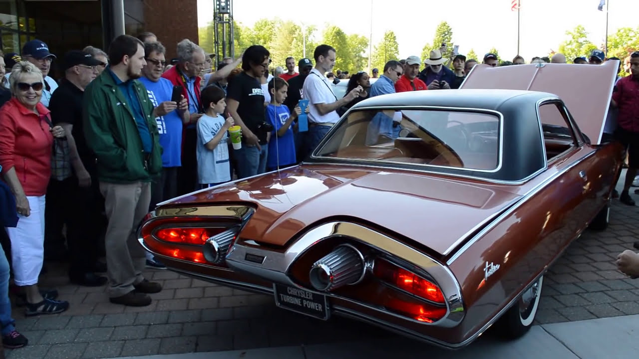 Chrysler Turbine Car Start Up And Rev 41 000 Rpm Youtube