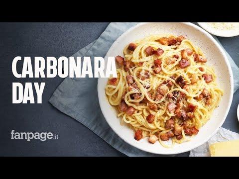 Il 6 aprile è il Carbonara Day:la spaghettata più grande del mondo quest'anno è sui social