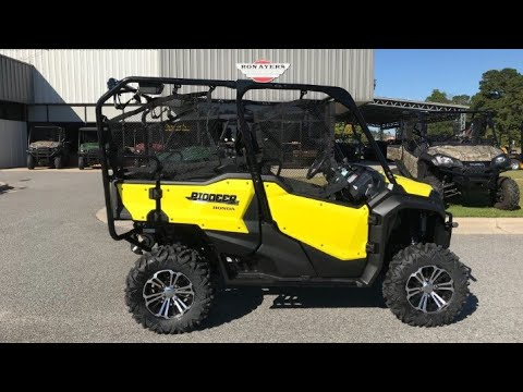 2018 honda pioneer 1000 5 deluxe review