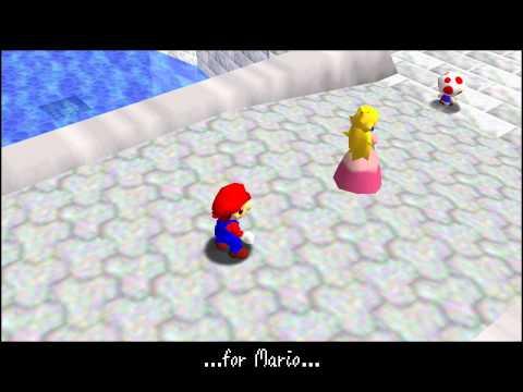 N64 Super Mario 64 In 5:03.80
