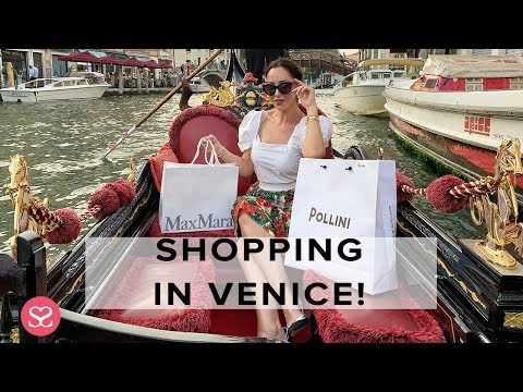 ROMANTIC LUXURY SHOPPING IN VENICE! Buying In MaxMara, Chanel & Fendi