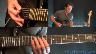 The Unforgiven Guitar Lesson Pt.2 - Metallica