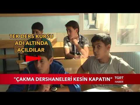 """""""Çakma Dershaneleri Kesin Kapatın"""""""