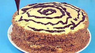 Решила сделать торт, но что то пошло не так и вот что вышло.. Домашние рецепты просто и вкусно