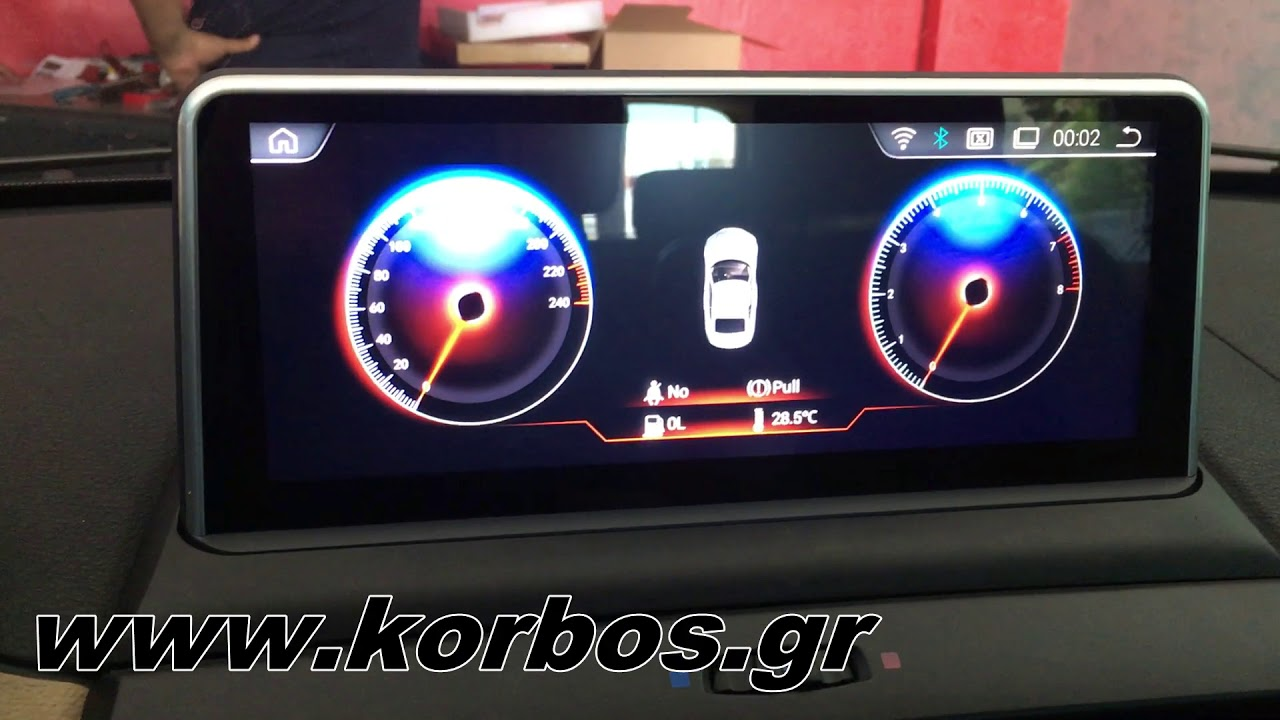 Bmw X3 with 10,25 Inches  Android Oem Multimedia www.korbos.gr
