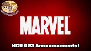 MCU D23 Annnouncements - Moon Knight, She-Hulk, Black Widow