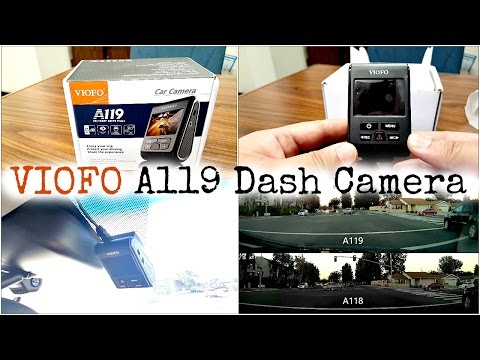 Full Review: VIOFO A119 Dash Camera DVR with Sample Comparison video vs A118