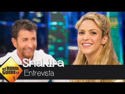Shakira cuenta la historia de amor con Piqu que hay detrs de 'Me enamor'  - El Hormiguero 3.0