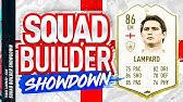 Fifa 20 Squad Builder Showdown!!! ICON FRANK LAMPARD SBSD!!