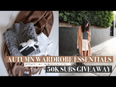 5 Autumn Style Essentials + 50K Subs Giveaway (Chanel, Linjer & Everlane) | Mademoiselle