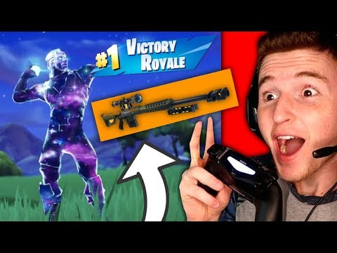 *NEW* SKIN + NEW SNIPER = WINNING IN FORTNITE!
