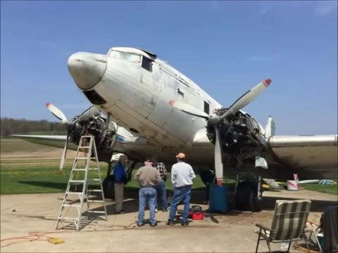 """Help Support Vintage Wings Inc. get our C-53 """"Beach City Baby"""" Flying!"""