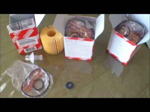 Toyota oil filters sold in Ebay, packaged to mail today for frank
