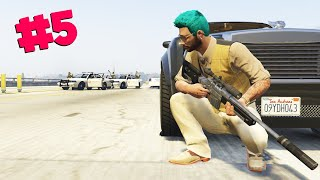 LOSE THE COPS (GTA 5 ONLINE)