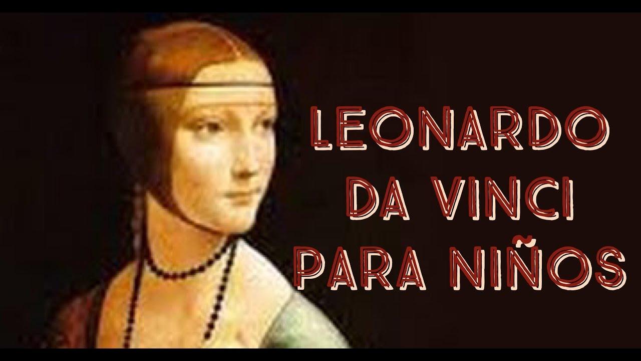 Leonardo da vinci para ni os youtube - Lamparas de pared infantiles ...