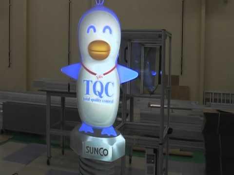 20111128サンコーインダストリープロジェクターBOXテスト