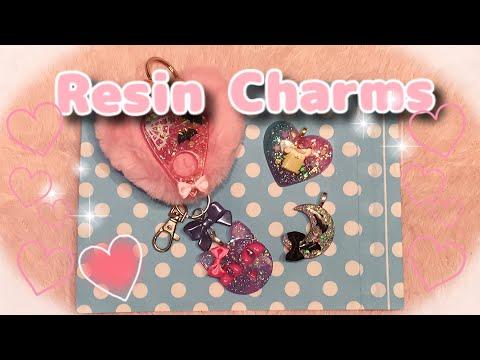 My Kawaii Handmade Resin Charm Collection!
