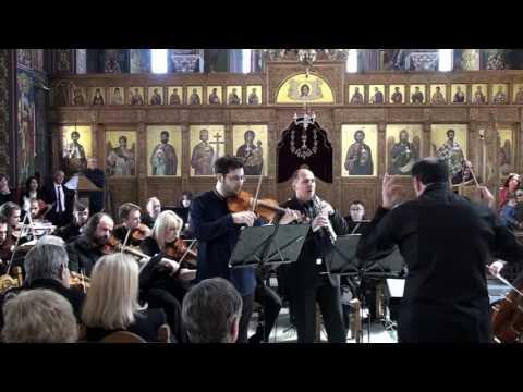 BACH and MOZART in a Greek Orthodox Church (9/4/2017)