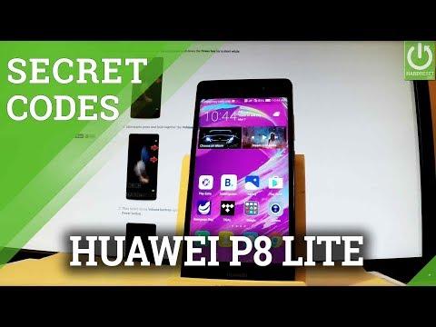 CODES in HUAWEI P8 Lite - Advanced Features / Hidden Mode / Tricks