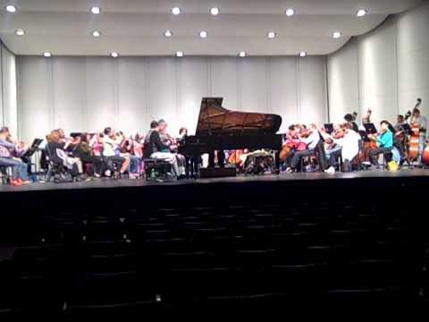 Rachmaninoff Piano Concerto No. 2 - Gregory Knight - Western Piedmont Symphony (Rehearsal)