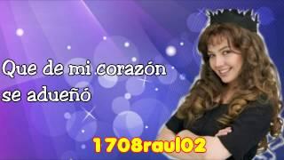Thalía - María la del barrio (letra)