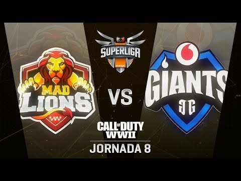 MAD LIONS VS VODAFONE GIANTS - SUPERLIGA ORANGE COD - JORNADA 8 - #SuperligaOrangeCOD8