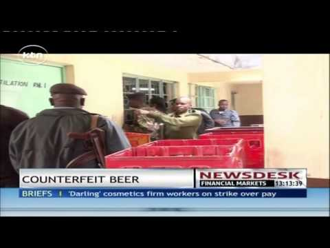 Counterfeit beer nabbed in Nairobi's drinking dens