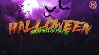 Halloween Graphics Pack by Qehzy #spooky