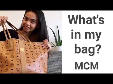 What's in my bag 2018 | อะไรอยู่ในกระเป๋า MCM Liz