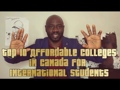 Top 10 Affordable Colleges in Canada for International Students - 2019