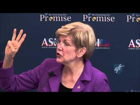 Sen. Warren: New Vision for Higher Education