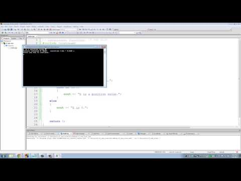C++ Programming Tutorials: 10 - IF ELSE Conditional Structures
