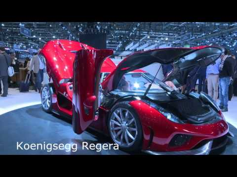 Top 10 des bolides du Salon de Genève 2016 - Guide de l'auto
