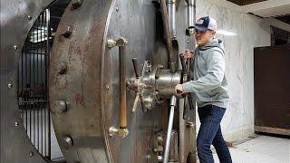 Exploring 100 Year Old Bank Vault