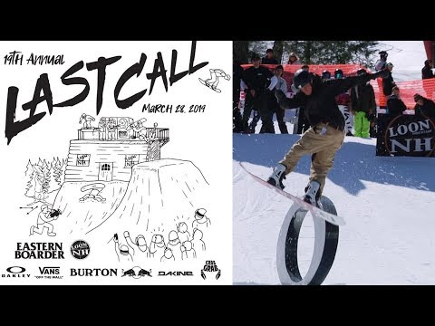 Eastern Boarder's Last Call—Highlights from The East Coast Psycho Comp at Loon Mountain
