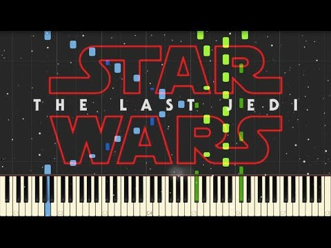 Star Wars: The Last Jedi - Teaser Trailer Music - Piano (Synthesia)