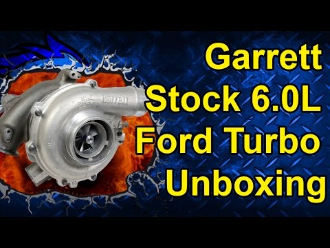 Garrett 6.0L Ford Turbo Unboxing | Get Boost for a Great Price!