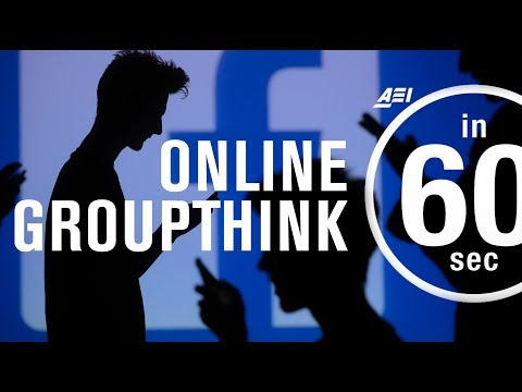 Groupthink on online platforms | IN 60 SECONDS