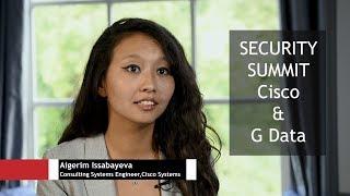 Interviews G Data & Cisco Security Summit