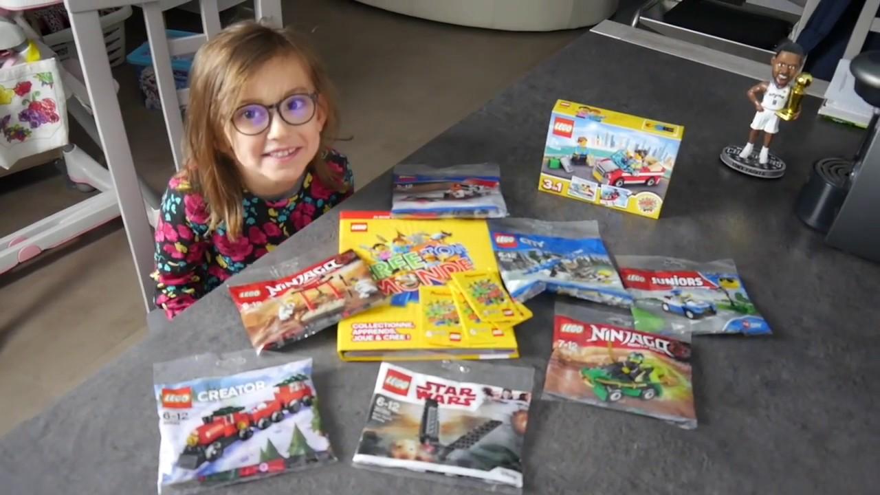 Carte Lego Auchan Livre.Collection De Cartes Lego Deballage Lego Auchan Team Caps Family