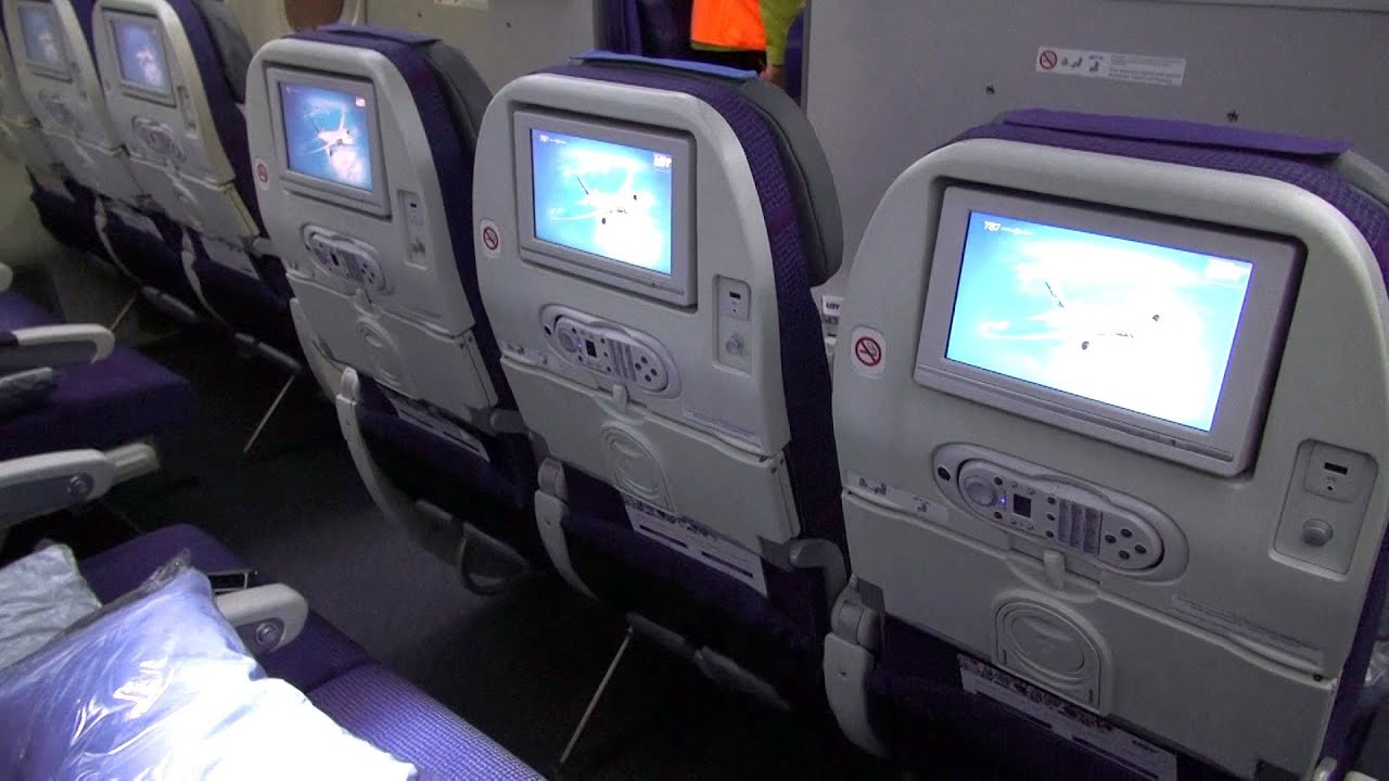 Boeing 787 Dreamliner - Cabin Interior - Seating Details [HD] - YouTube