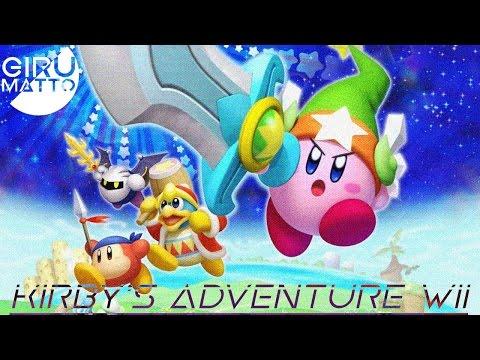 "【Kirby's Adventure Wii】 ★Completo en Directo!★ ""Wii"""