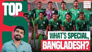 India 🇮🇳 vs. Bangladesh 🇧🇩: FIFA 2022 Qualifiers | 5 Things You Should Know About Bangladesh