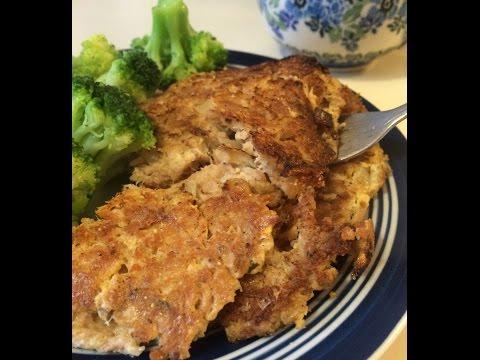 No Carb Tuna Fish Cakes Recipe