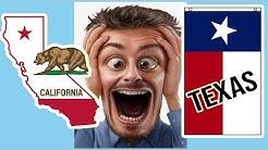 California vs Texas: Salaries and Taxes (2020)