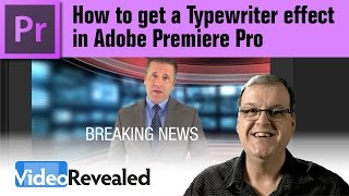 How to get a Typewriter Effect Premiere Pro